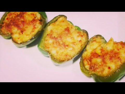 stuffed capsicum curry | stuffed capsicum in telugu | stuffed capsicum recipe | stuffed capsicum