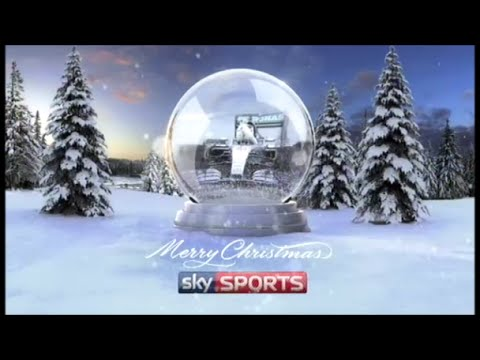 Sky Sports - Lewis Hamilton Snow Globe - Christmas 2015