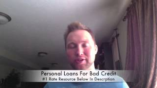 Personal Loans For Bad Credit (Fast Approval Online)