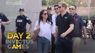 Invictus Games 2017: Prince Harry with Meghan Markle | Forces TV