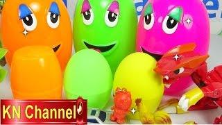 Đồ chơi trẻ em Bé Na Bóc Trứng thần kỳ lấy bất ngờ tập Magic Eggs & Surprise Childrens toys