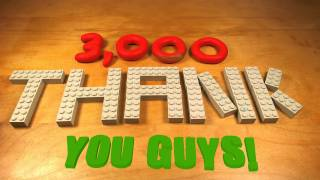 3,000 SUBSCRIBERS!