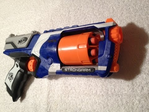 REVIEW: Nerf Elite Strongarm!!!