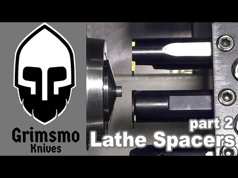 Knifemaking Tuesdays Week 99 - Lathe spacers - part2