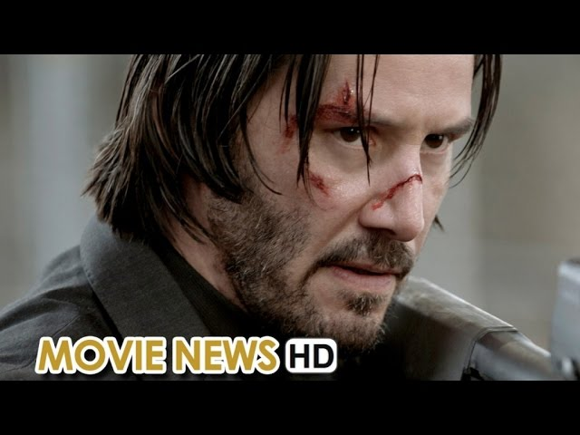 Action Movie News: John Wick Sequel confirmed with Keanu Reeves (2015) HD