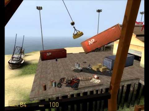 [Dock Hand Simulator 2015] How to ship it on a crane