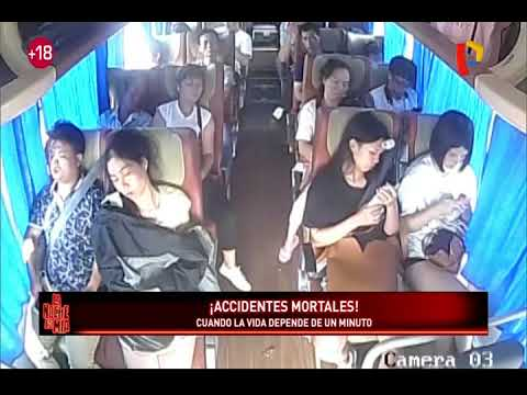 ¡Accidentes mortales! cuando las desgracias ocurren de un segundo a otro