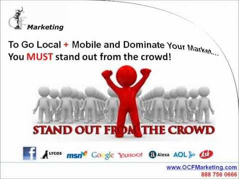 OCF SEO LOCAL PLUS MOBILE MARKETING EQUALS TOTAL MARKET DOMINATION
