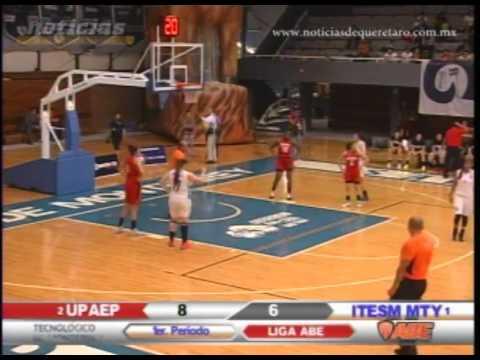 Básquetbol Universitario UPAEP vs ITESM Monterrey (Primer Cuarto)