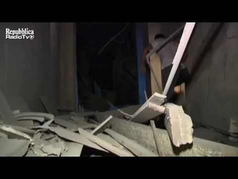 Tripoli: Attack against the bunker of Gaddafi - May 10, 2011