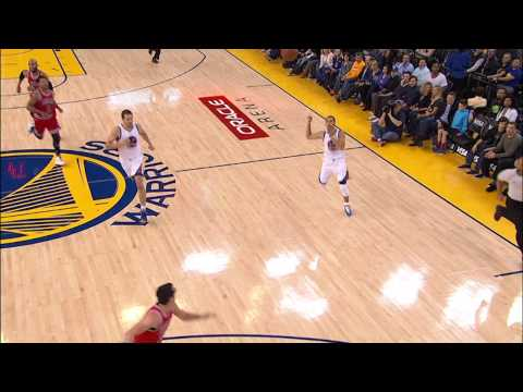 Curry Finds a High-Flying Barnes for the Alley-Oop