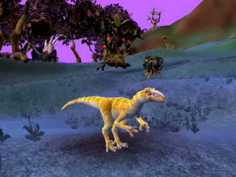 Spore Dinosaur  watches epic kill
