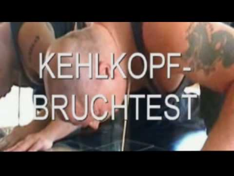 Kehlkopf vs Chopstick www.powerbruchtest.de