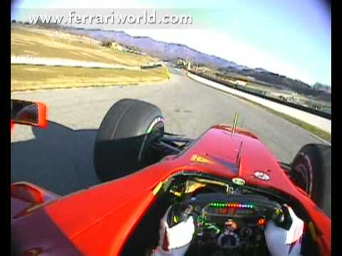 Scuderia Ferrari F60 in Action with Felipe Massa