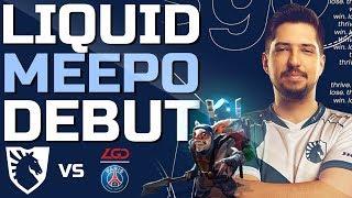 LIQUID vs PSG.LGD - BEST OF THE BEST!! w33 Meepo Debut - EPIC SERIES - EPICENTER MAJOR 2019 - Dota 2