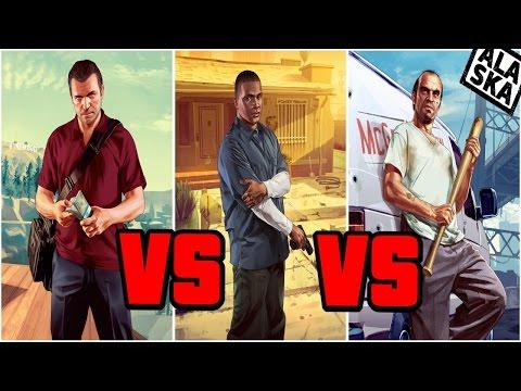 Кто из героев GTA 5 хуже?? Неужели не Тревор??