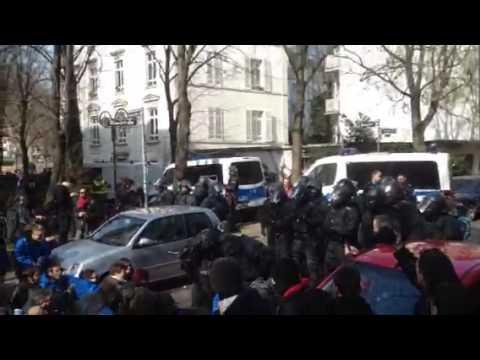 #Blockupy - Manifestanti Blocco blu identificati dalla polizia