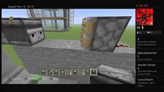 Minecraft creative stream #11 : working on my project