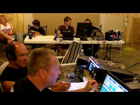 Part 1 of 2 Ham Radio Field Day Albert Lea Video 2010 In Freeborn County, MN