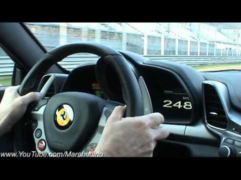 Ferrari 458 Italia in Action - Ride Rev Accelerations Fly Bys
