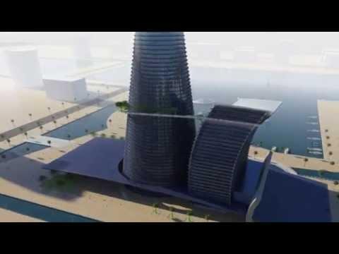 Dubai Tower part 2 -  3D Modeling by 3D Vision Co