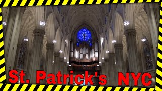 Dr. Carol Williams at St Patrick's Cathedral, NYC