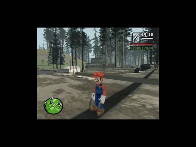 Loquendo - Mario Bros se pierde en GTA San Andreas