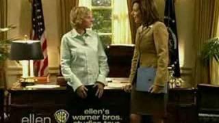 Allison Janney on Ellen's Oval Office Special