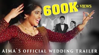Actress Aima Rosmy + Kevin Paul Wedding Trailer | AGNOVISION