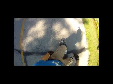 Woodland Mound Freeride Run (Helmet Cam)