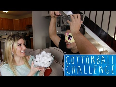 Cotton ball challenge