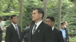 首相、靖国神社に玉串料