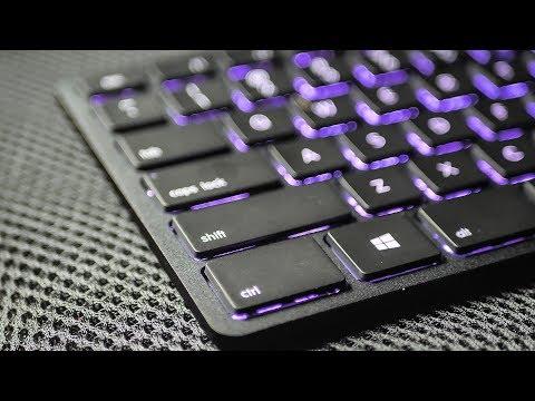 Cea mai ELEGANTA tastatura Non-Gaming, Subtire, Silentioasa, RGB