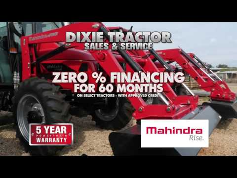 WDAM Commercial - Dixie Tractor Sales & Services - Mahindra (Revised)
