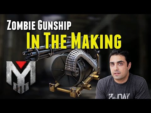 Zombie Gunship   In the Making
