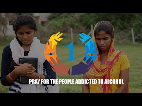 Pray for people addicted to Alcohol