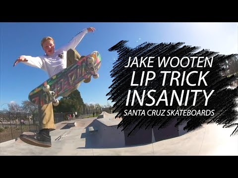 Jake Wooten's Lip Trick Insanity on the Watsonville hip
