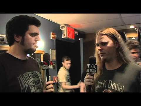 DECAPITATED Interview with Vogg at Summer Slaughter 2010 on Metal Injection