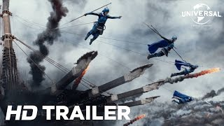 The Great Wall - Official Trailer 2 (Universal Pictures) HD