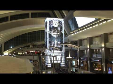 John Teng Films a Video Mural at Los Angeles International Airport.