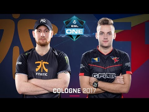 CS:GO - Fnatic vs. FaZe [Overpass] - Swiss Round 3 - ESL One Cologne 2017