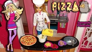 Barbie Chef: Cocinando Una Rica Pizza! 🍕🍕