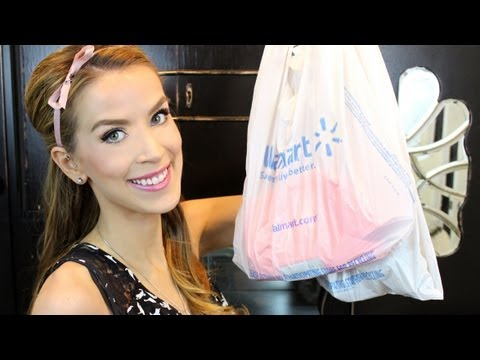 BIG Drugstore Makeup HAUL REVIEW from Walmart! New Covergirl. Flower. Revlon!