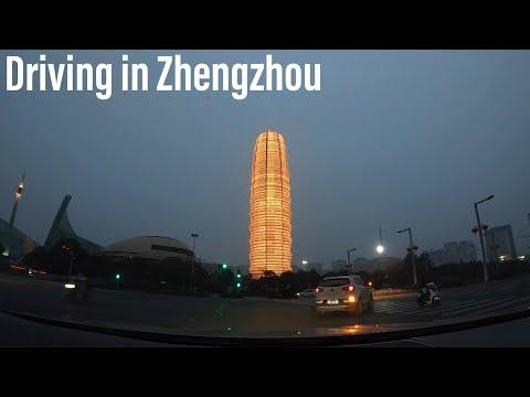 (HD) Driving in Zhengzhou during a coronavirus outbreak. Most worth watching Road Trip Videos 2020!