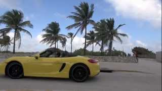 2013 Porsche Boxster on Ocean Drive, Miami Beach