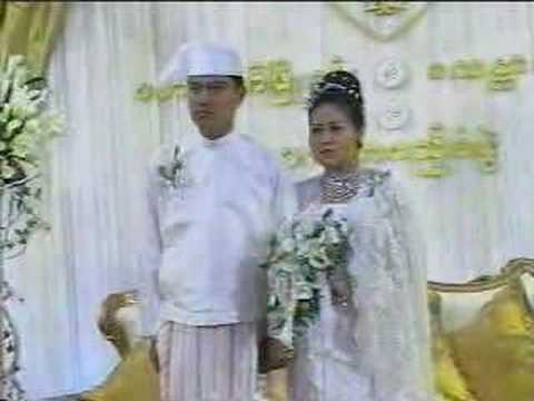 Myanmar Wedding Of Burma Than Shwe's Daughter - 11of24 video