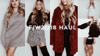 Fashion Nova F/W 2018 Haul | HAUSOFCOLOR