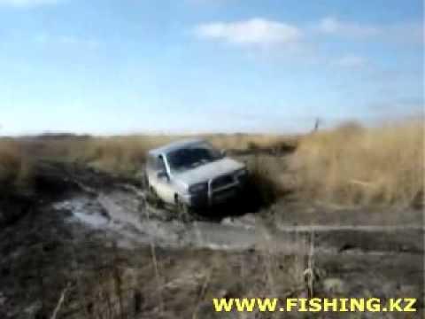 в казахстан на машине на рыбалку