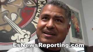 The Coolest Gift Robert Garcia Ever Got - and it was from Mikey Garcia - EsNews Boxing