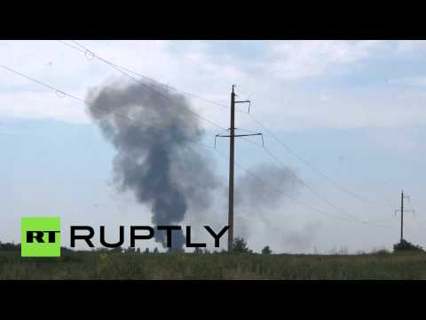 Chopper downed in Slavyansk, 14 Ukrainian soldiers killed